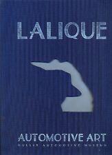 LALIQUE Auto Mascotte-Rilegato Libro del Museo Mullin-Deluxe Edition