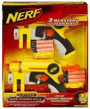 Brand New NERF N-Strike NITE FINDER EX-3 Dart BLASTER 2 Pack ORIGINAL