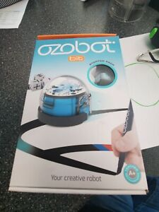 Ozobot OZO-040201-03 Bit Starter Pack Programmable Robot Toy - Blue Brand NEW