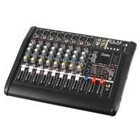 2000 Watt 8 Channel Professional Powered Mixer Power Mixing Amplifier Amp 16DSP