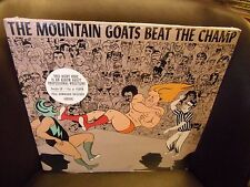 The Mountain Goats Beat The Champ 2x LP NEW vinyl + digital download