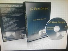 3D Boat Design: Professional, Fully Detailed High Performance CAD software Pack