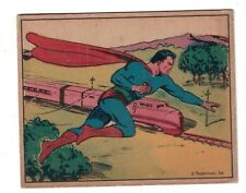 1940s Superman Gum Trading Card - #7