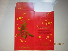 Blackmores Year 2017 Flower Chinese New Year Ang Pow/Red Money Packets 2pcs