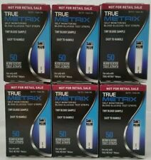 TRUE Metrix Blood Glucose 300 Test Strips (6 Boxes Of 50 Count) Exp: 11/20/2018
