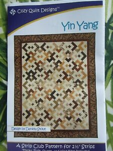 Yin Yang Quilt Pattern by  Cozy Quilt Designs a Strip Club Pattern