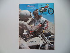 advertising Pubblicità 1975 MOTO MALAGUTI CAVALCONE 125 CROSS