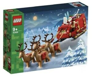 40499 lego Slitta Babbo Natale Renne Regali Natale 2021 LIMITED!