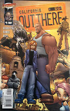 Out There #9 NM- 1st Print Free UK P&P Cliffhanger Comics