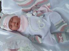 bébé dort llorens tenue tétine porte bébé poupée jouet -reborn pour enfant neuf
