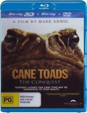 Cane Toads: The Conquest (3D Blu-ray/Blu-ray/DVD)  - BLU-RAY - NEW Region B