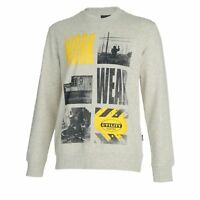 diadora utility workwear graphic print sweatshirt work100% Cotton