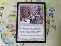 Magic the Gathering x4 Oracle/'s Attendants Nemesis White Rare Creature NM