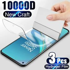 Full Cover Hydrogel Film For Oneplus 8T 7T 6T 5T 7 Pro 6 8 Screen Protector 3pcs