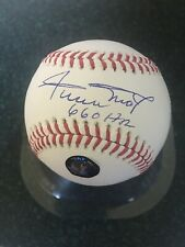 """Willie Mays Signed Autographed Auto ROML Baseball """"660 HRS"""" Say Hey Authentic"""