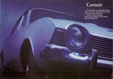 Ford Corsair 1967-68 UK Market Sales Brochure V4 De Luxe 2000 2000 E Estate