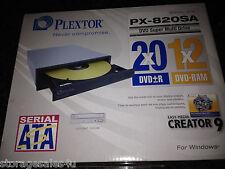 Plextor PX-820SA 20X DVD +/- R&RW Dual Layer Writer