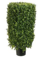 """30"""" Rectangular Boxwood Artificial Topiary in Pot Tree plant Indoor Outdoor 232"""