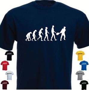 Ape Human Tennis Evolution New T-shirt