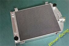 70mm  aluminum radiator FOR Ford hot rod with Chevy 350 V8 engine 1932