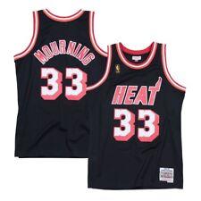 657a7b5e3 Alonzo Mourning Miami Heat 1996-97 Road Mitchell   Ness Swingman Jersey