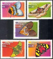 RSA/Sud Africa Farfalle/Insetti/NATURA 5v Set defins. ref:s2021