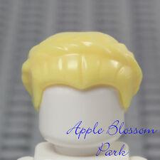 NEW Lego Female BLONDE MINIFIG HAIR -Yellow Short Braid Bride Queen Head Gear