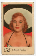 1960s Swedish Film Star Card Star Bilder A #3 US Film &TV Actress Rhonda Fleming