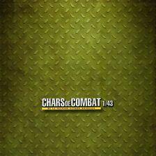 ALTAYA CHAR DE COMBAT DE LA SECONDE GUERRE MONDIALE 1/43 + FASCICULE du 0 AU 110