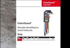 "BONDHUS BLX9MCG ColorGuard Innensechskant Inbus Set 9tlg Kugelkopf ""made in USA"""