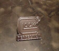 GLOCK PERFECTION LOGO LAPEL PIN *BRAND NEW* FIREARM GUN