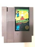 Baseball Nintendo NES Video Game Cartridge - Cleaned & Tested Working - 5 Screws