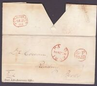 1839 Post Paid  London to Reading  GP General Post Paid