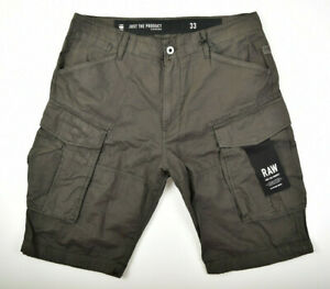 G-STAR RAW Rovic Loose 1/2 Shorts Gr. W33 / W34 Cargoshorts Bermuda Herrenshorts