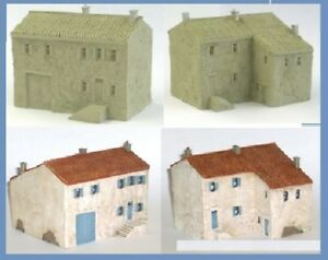 10mm Large French Village House (Code 7/017)