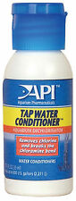 API Tap Water Conditioner 30ml Dechlorinator for Aquarium Removes Chlorine