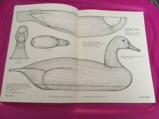 Pattern for Wooden Canada Goose Duck ID#871
