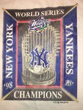 Vintage 1998 New York Yankees World Series Champions Trophy T-Shirt - Size XL
