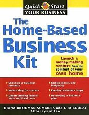 BK123f THE HOME BASED BUSINESS KIT by Diana Brodman Summers 275pg NEW BOOK