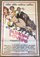 Sunday Lovers 1980 Vintage NSS 1-Sheet Movie Poster ~ Gene Wilder, Roger Moore