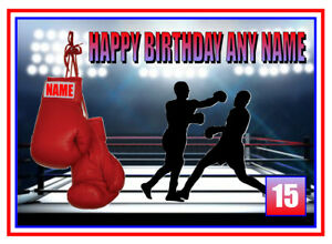 PERSONALISED BOXER BOXING 16 18 21st etc BIRTHDAY/OTHER CARD FREE POST 1ST CLASS
