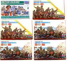 ESCI ERTL 1/72 scale WWII British Infantry Bundle - 6 mib sets