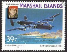 William Bridgeman & Consolidated B-24 LIBERATOR WWII Aircraft Stamp (1987)