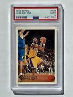 1996-97 Topps #138 Kobe Bryant Rookie Card PSA 9 MINT RC HOF Lakers Legend