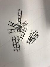 10 Used HO Tyco/Mantua Metal Caboose Ladder Lot -  Repair Part Lot