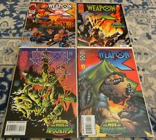 WEAPON X #1-#4 SET: AFTER XAVIER THE AGE OF APOCALYPSE, WOLVERINE, X-MEN