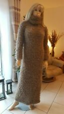 TRAUMMOHAIR FUZZY MOHAIR PULLOVER SWEATER JUMPER KLEID DRESS hand knit dick S-L