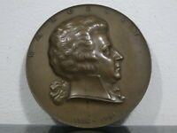 Medaille,Wolfgang Amadeus Mozart,Arnold Hartig,Wien,nach Leonhard Posch,um1927