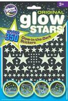Glow in the dark stars stickers dinosaurs shapes original glow stars UK seller
