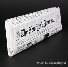 NEW Authentic Kate Spade New York NEWSPAPER CLUTCH Purse Bag Book Club